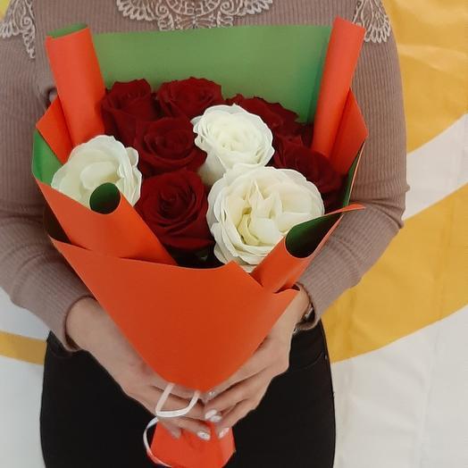 Классический из 9 роз