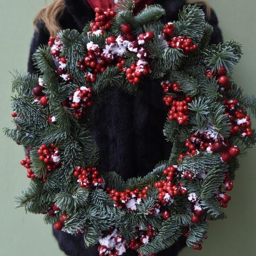 "Рождественский венок ""Christmas berries"""