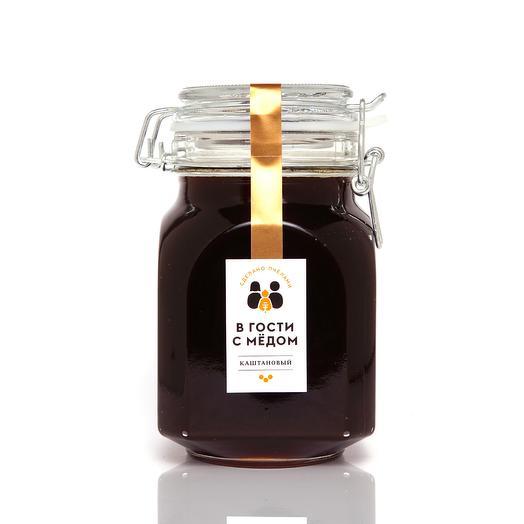"""Мёд """"Каштановый"""" (стекло 1 кг)"""