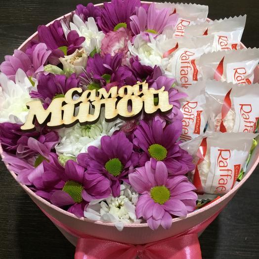 Цветы в коробке 07547