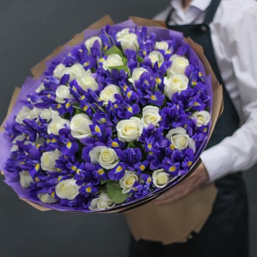 Букет цветов «Космос»