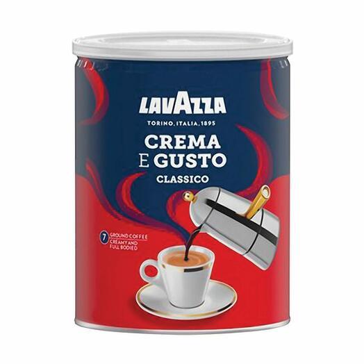 Кофе молотый LAVAZZA  Crema E Gusto 250 гр