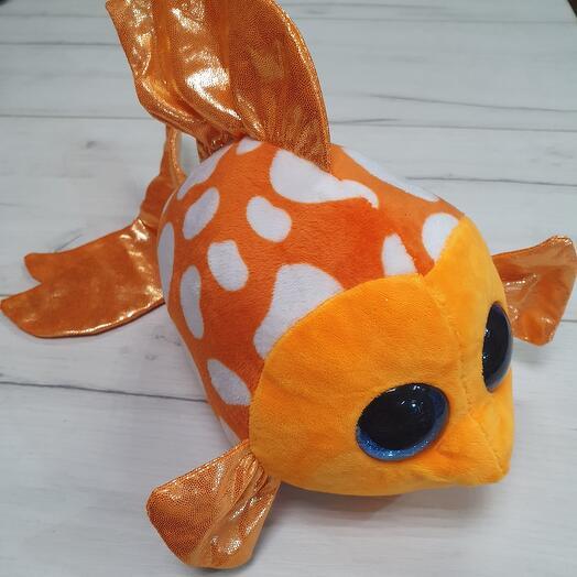 Рыбка оранжевая
