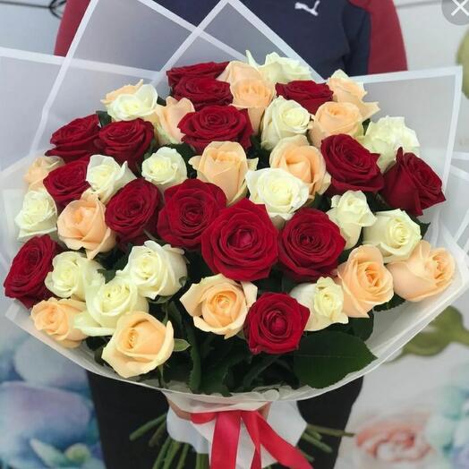Розы микс 45