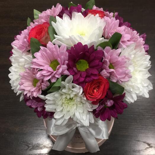 Цветы в коробке 05577