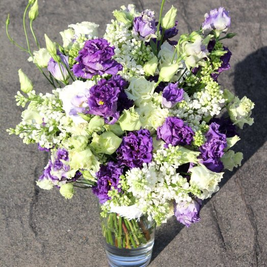 Сирень Горошины: букеты цветов на заказ Flowwow