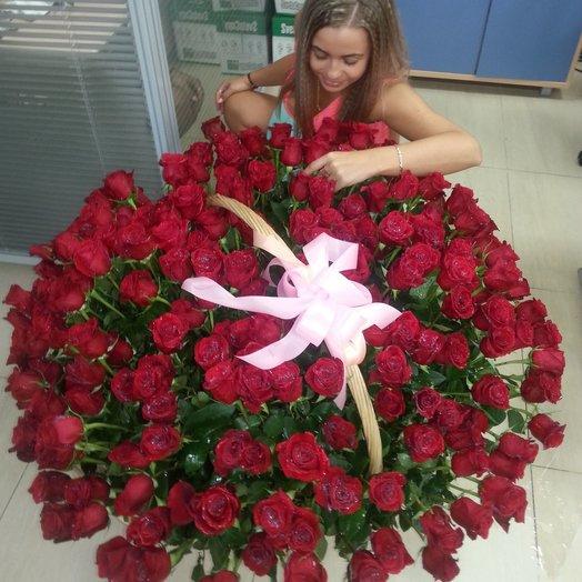 Корзина Принцессы!: букеты цветов на заказ Flowwow
