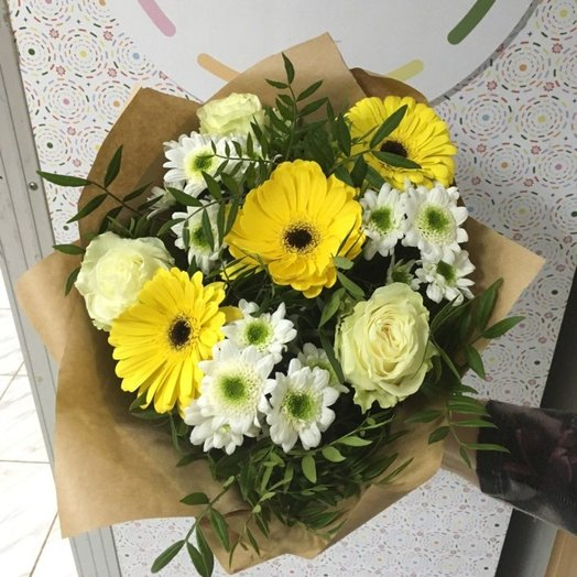 A ray of sunshine: flowers to order Flowwow