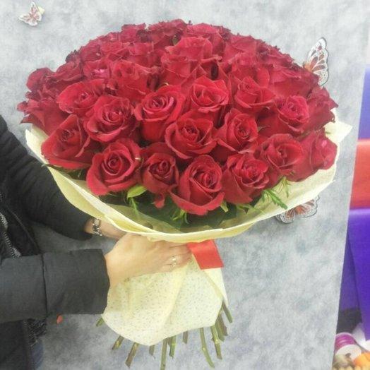 """51 роза """"друг к дружке"""": букеты цветов на заказ Flowwow"""