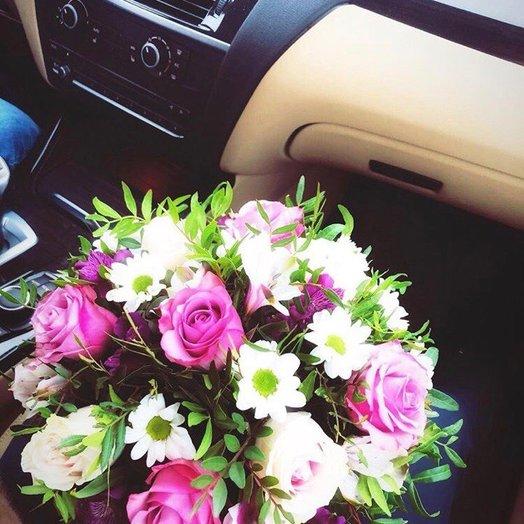 Лакшери: букеты цветов на заказ Flowwow