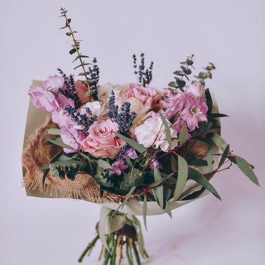 Лиловая фантазия: букеты цветов на заказ Flowwow