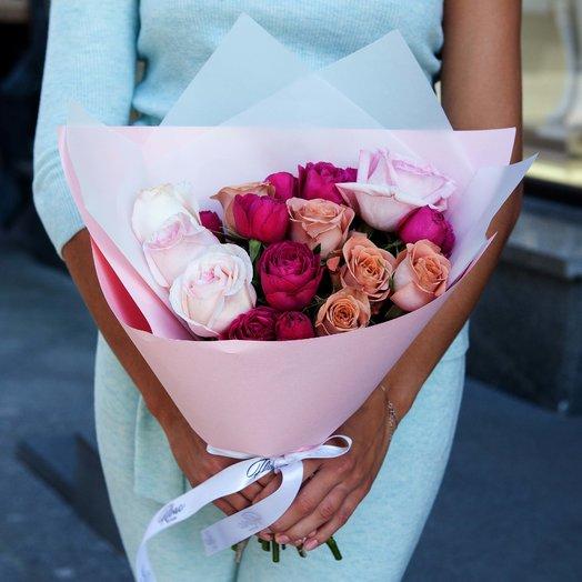 Букет Alrosa: букеты цветов на заказ Flowwow
