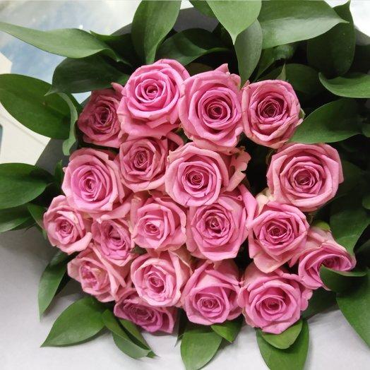 Розовая зелень