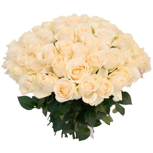 Bouquet of white roses: flowers to order Flowwow