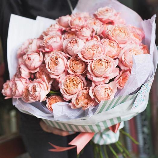 Кустовая роза Джульетт: букеты цветов на заказ Flowwow