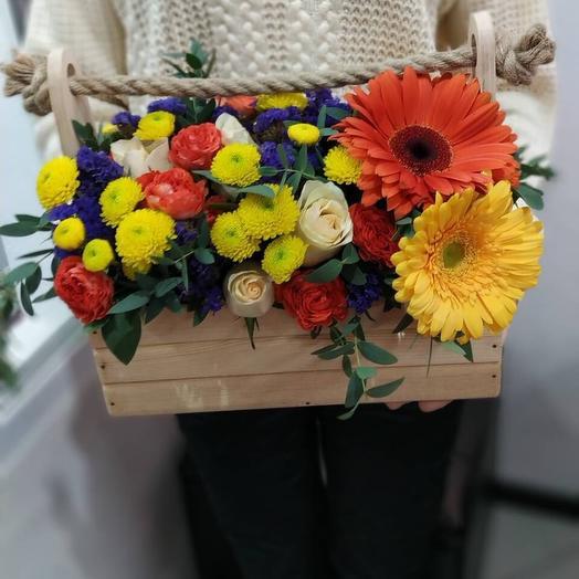 Шкатулка чудес: букеты цветов на заказ Flowwow
