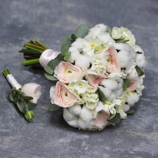Букет невесты 07: букеты цветов на заказ Flowwow
