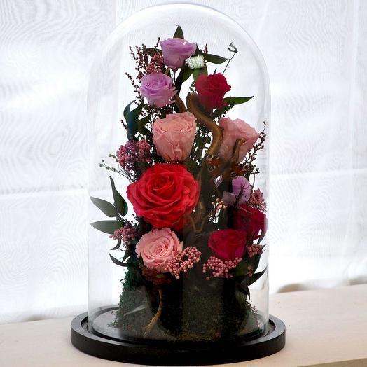 """КОМПОЗИЦИЯ """"СКАЗКИ ВЕНСКОГО ЛЕСА"""": букеты цветов на заказ Flowwow"""