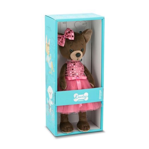 Коллекционная игрушка Lucky Doggy Малиновый блеск: букеты цветов на заказ Flowwow