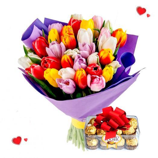Сладкие тюльпаны
