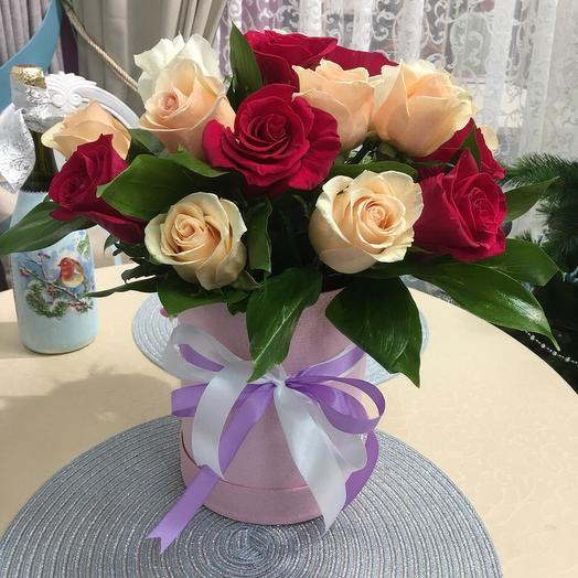 Нежность 3 в 1: букеты цветов на заказ Flowwow