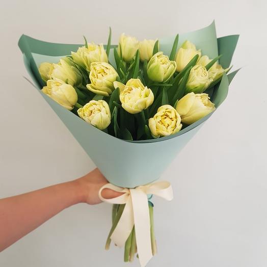 19 кремовых: букеты цветов на заказ Flowwow