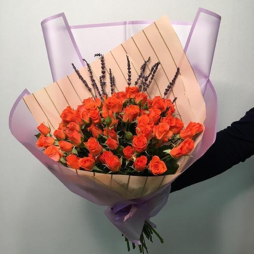 «Оранжевое очарование»: букеты цветов на заказ Flowwow