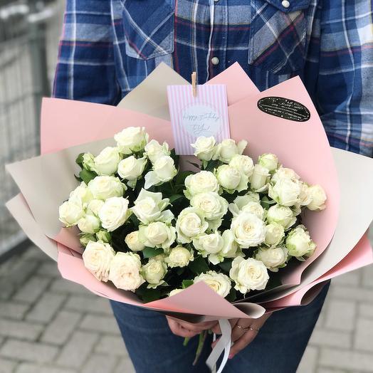 Она: букеты цветов на заказ Flowwow