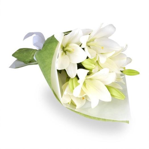 Букет Снежный: букеты цветов на заказ Flowwow