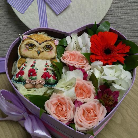 Совушка: букеты цветов на заказ Flowwow