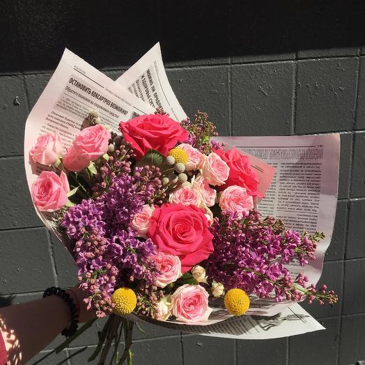 Мальна: букеты цветов на заказ Flowwow