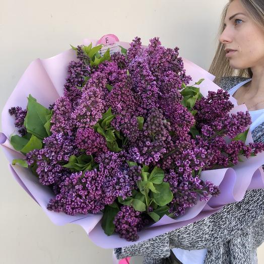 Огромный букет Сирени: букеты цветов на заказ Flowwow
