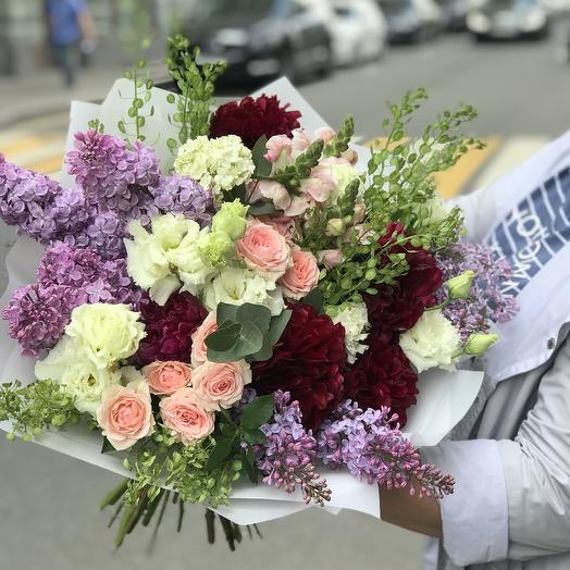 Просто красивый букет: букеты цветов на заказ Flowwow