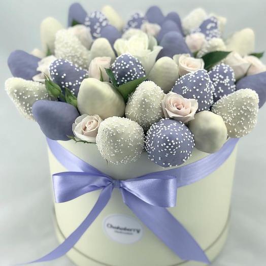 Наборы клубники в бельгийском шоколаде марки Callebaut: букеты цветов на заказ Flowwow