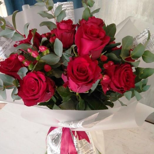 Red Paris: букеты цветов на заказ Flowwow