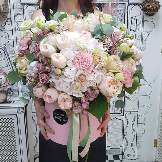 "Коробка ""Облако счастья"": букеты цветов на заказ Flowwow"