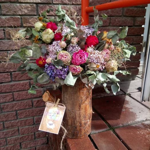 Интерьерная композиция 1: букеты цветов на заказ Flowwow
