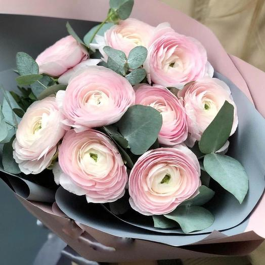 Букет ранункулюсов ,,Симпатия: букеты цветов на заказ Flowwow