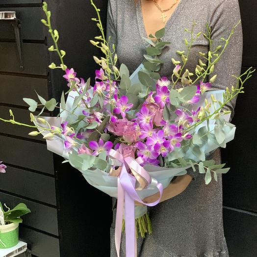 Облачная орхидея: букеты цветов на заказ Flowwow