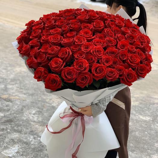 101 премиум роза