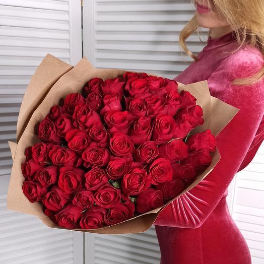 51 roses Red Paris