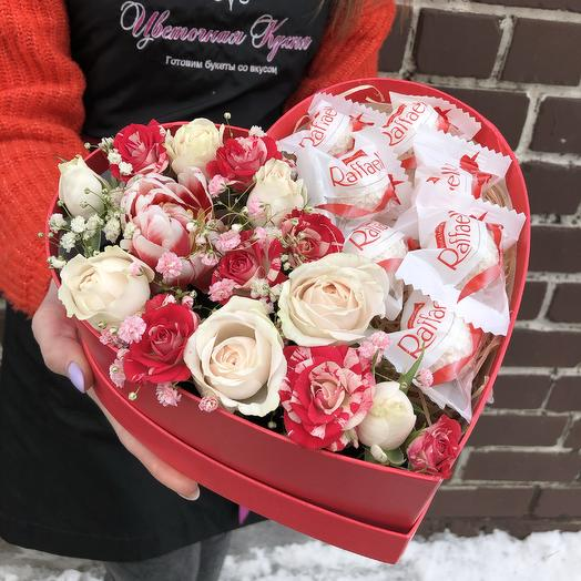 Сердце 💓: букеты цветов на заказ Flowwow