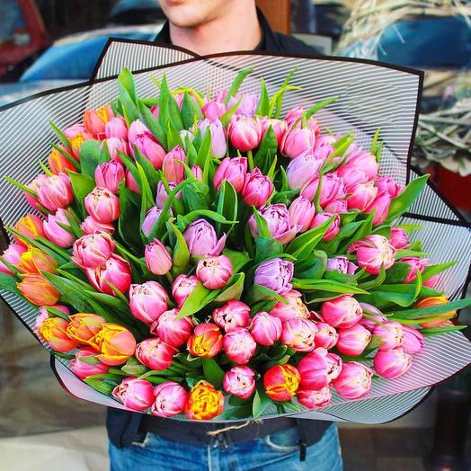 59 микс тюльпанов