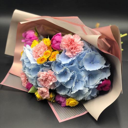 Букет «Яркий день»: букеты цветов на заказ Flowwow