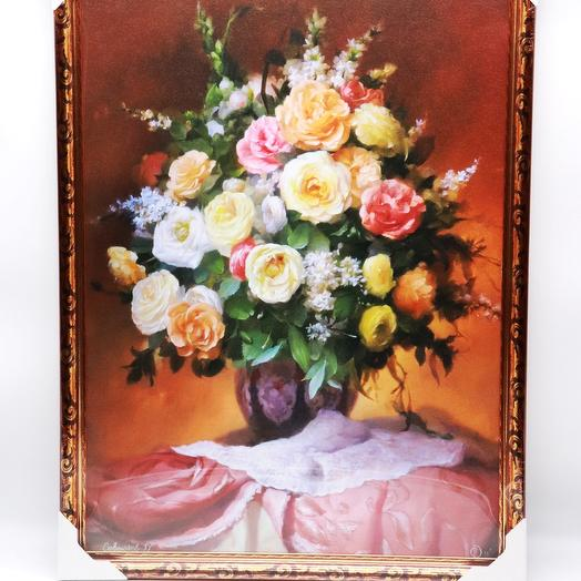 Картина «Букет из роз»