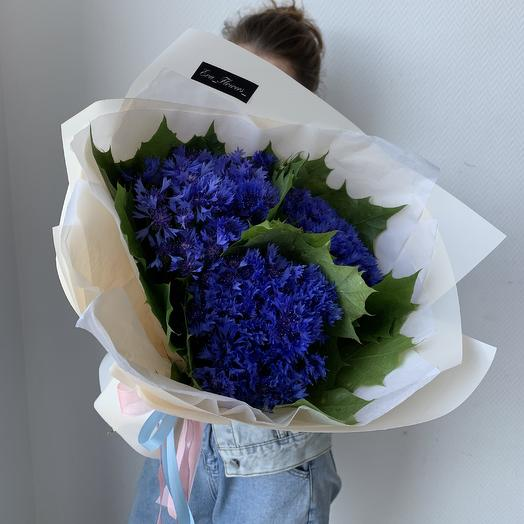 Букет из васильков: букеты цветов на заказ Flowwow