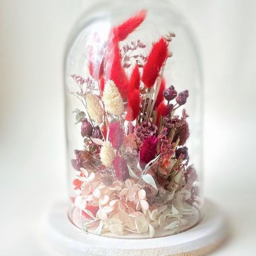 Клош red flowers