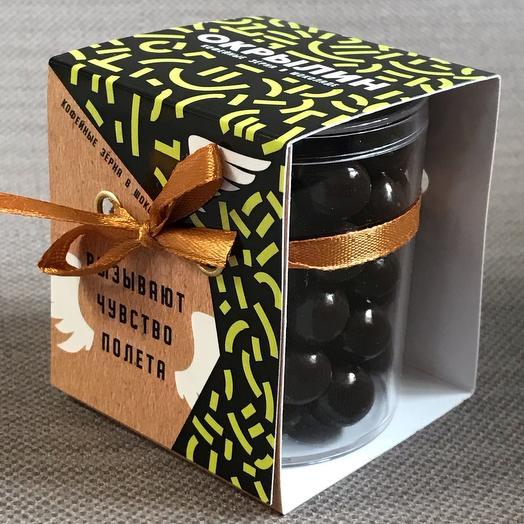 Кофейные зерна в шоколаде «Окрылин»