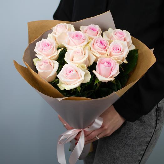 Букет из роз «Нежное утро»