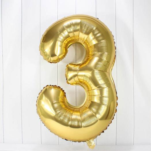 Цифра 3 гелий